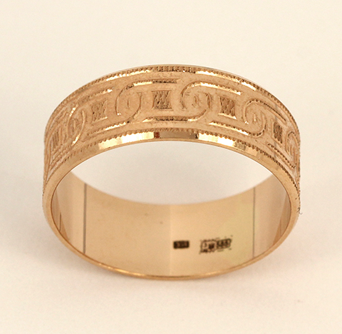 Обручальное кольцо код- 1000050583590 1
