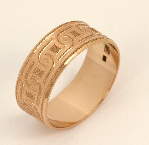 Обручальное кольцо код- 1000050583590 2