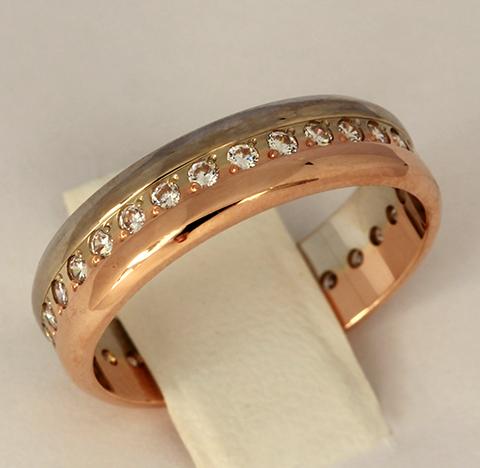 Обручальное кольцо код- 1000103833283 2