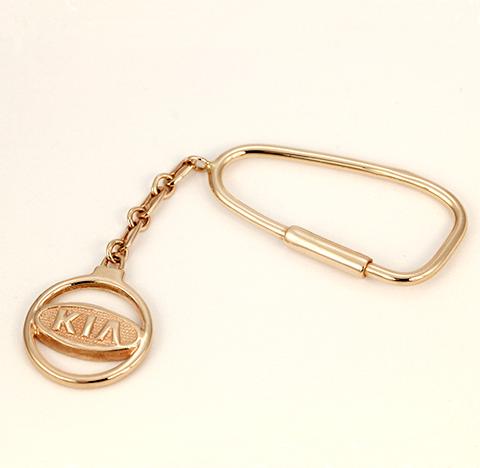 Золотой брелок КИА (KIA) код- 1000044774966 1